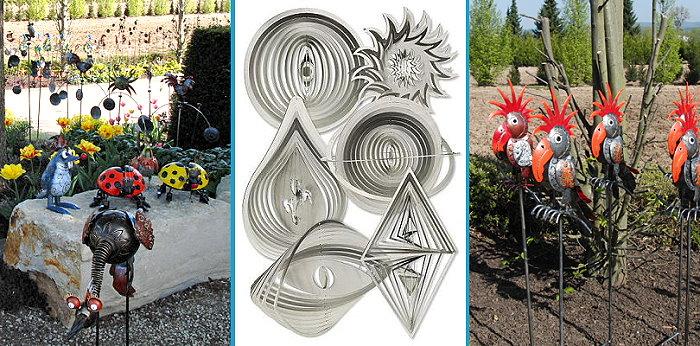 edelstahl-windspiele-ulrike marx - metalldesign, Garten ideen